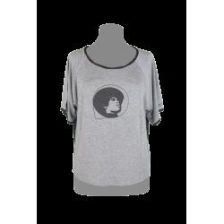 T-shirt Poly Colore Grigio...