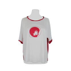 T-shirt Poly Colore Bianco...