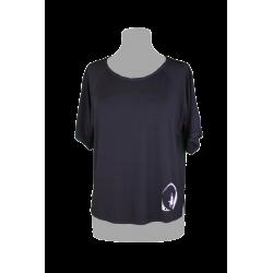 T-shirt Black Colore Nero